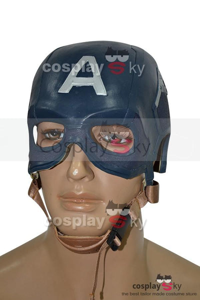 Avengers: Age of Ultron Captain America Mask Cosplay Prop