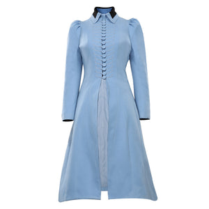 Lemony Snicket's A Series of Unfortunate Events Violet Baudelaire Cosplay Costume Coat Halloween Carnival Suit