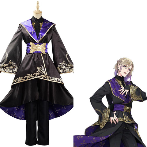 Game Twisted Wonderland Halloween Carnival Suit Cosplay Costume Adult Women Dress Uniform Outfit