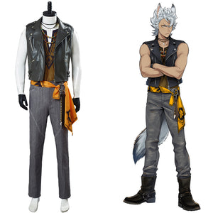 Game Twisted Wonderland Halloween Outfits Jack Howl Cosplay Costume