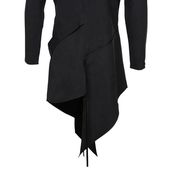 Plague Doctor Halloween Carnival Suit Cosplay Costume Men Steampunk Gothic Hooded Jacket Coats