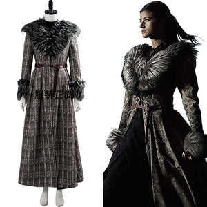 The Witcher Yennefer Cosplay Costume Halloween Suit Outfit