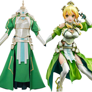 Anime Sword Art Online SAO Cosplay Costume Leafa Suguha Kirigaya Halloween Outfits