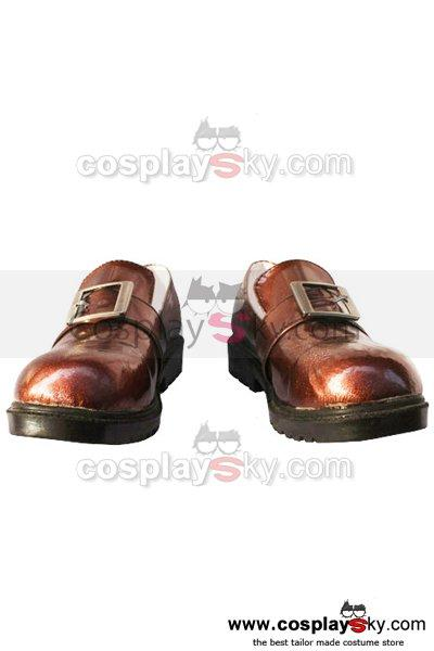 Black Butler Ciel Cosplay Shoes Brown