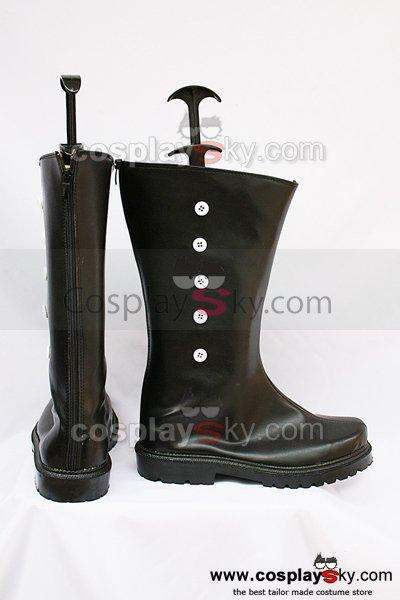 Black Butler Drocell Caines Cosplay Boots Black
