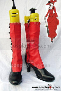 Black Butler Madam Red Angelina Dulles Cosplay Boots Shoes