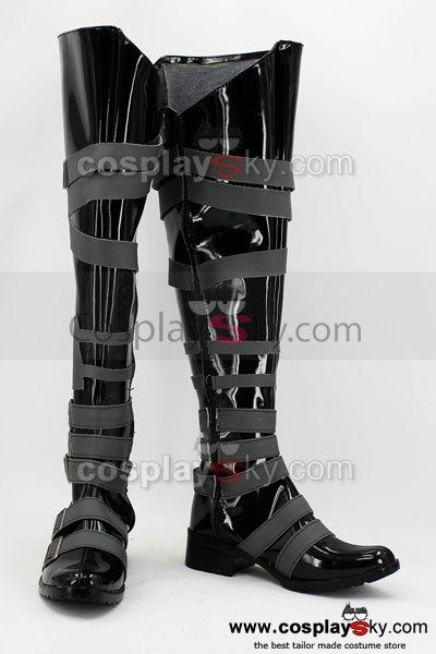 Black Butler Undertaker Cosplay Boots Shoes
