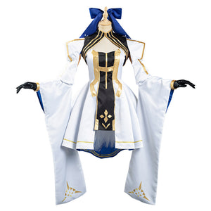 Fate/Grand Order FGO Altria Pendragon Halloween Carnival Suit Cosplay Costume Dress Outfits