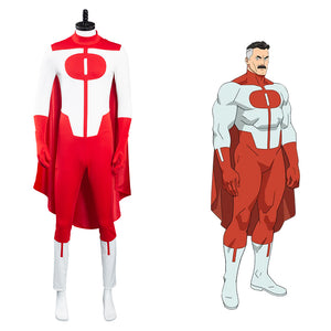 Invincible Omni-Man Halloween Carnival Suit Cosplay Costumes Outfits