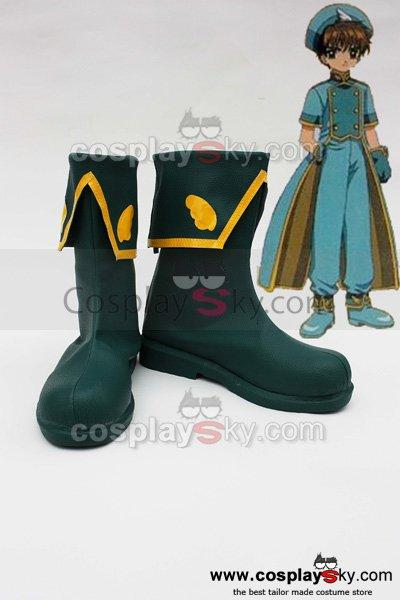 Card Captor Sakura CCS LI SYAORAN Cosplay Shoes Boots