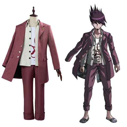 Danganronpa V3 Momota Kaito Halloween Carnival Costume Cosplay Costume College School Uniform Outfit