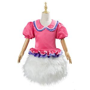 Daisy Duck Cosplay Costume Kids Children Outfit Halloween Carnival Costume
