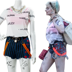 2020 Birds of Prey Harley Quinn Cosplay Costume