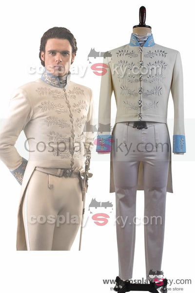 Cinderella 2015 Film Prince Charming Kit Outfit Cosplay Costume