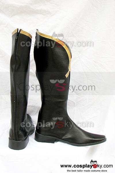 Code Geass Lelouch of the Rebellion Jeremiah Cosplay Boots