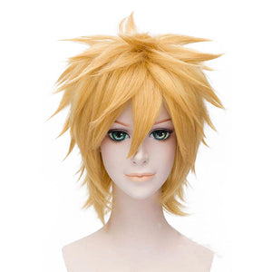 Naruto Uzumaki Naruto Carnival Halloween Party Props Cosplay Wig Heat Resistant Synthetic Hair