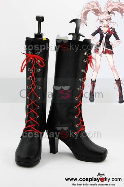 Danganronpa Junko Enoshima Cosplay Shoes Boots Custom Made