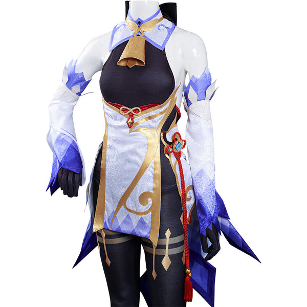 Game Genshin Impact - GanYu Halloween Carnival Suit Cosplay Costume Jumpsuit Outfits