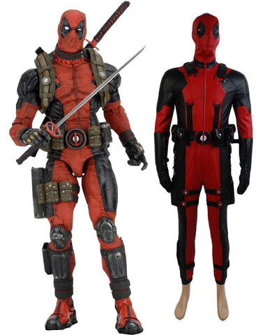 Marvel Comics Deadpool Cosplay Costume In Video Game