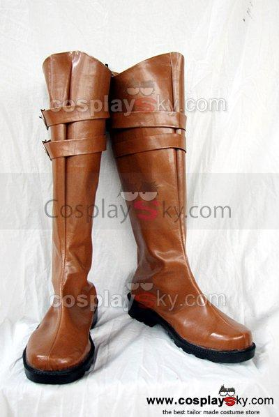 Devil May Cry Credo Cosplay Boots Shoes Custom Made