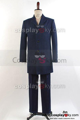 Doctor Who 12th Doctor Peter Capaldi Costume Cosplay Set Coat Vest Pants