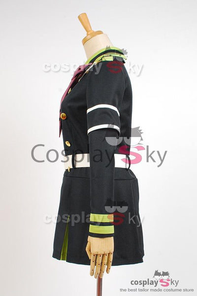 Seraph of the End Shinoa H?ragi Uniform Dress Cosplay Costume