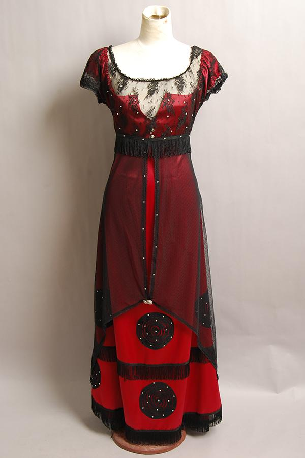 Edwardian Ladies Clothing – 1900, 1910s, Titanic Era Titanic Rose Jump Dress Costume Victorian $99.00 AT vintagedancer.com
