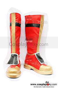 Dynasty Warriors 4 Gongjin Zhou Yu Cosplay Boots Shoes