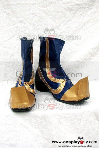 Dynasty Warriors 4 Si Mayi Cosplay Boots Male Version