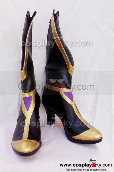 Dynasty Warriors Zhen Luo Cosplay Boots Custom Made