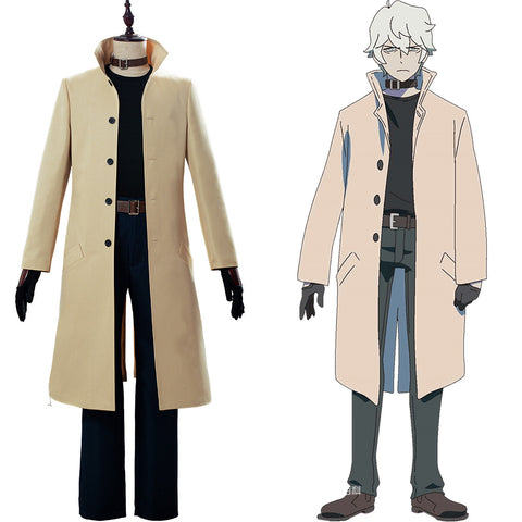 Ogami Shirou BRAND NEW ANIMAL BNA Cosplay Costume