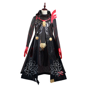 FGO Fate/Grand Order Karna (Santa) Halloween Carnival Suit Cosplay Costume Jumpsuit Outfits