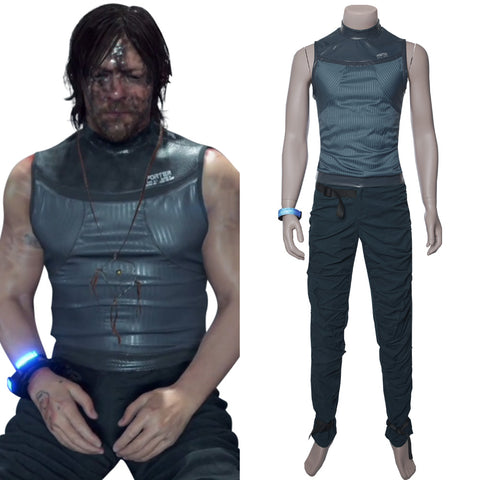 Sam Porter Bridges Death Stranding Top Cosplay Costume