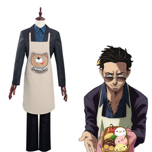 The Way Of the Household Halloween Carnival Suit Husband Tatsu Cosplay Costume Shirt Pants Apron Outfit