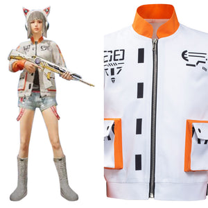 Game For Peace Halloween Carnival Suit Inspectors Cosplay Costume Outfits Kids Children