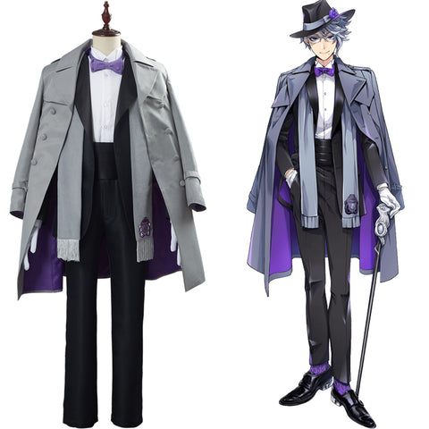 Twisted Wonderland Game Azul Ashengrotto Cosplay Costume Adult Uniform Outfit Halloween Carnival Suit