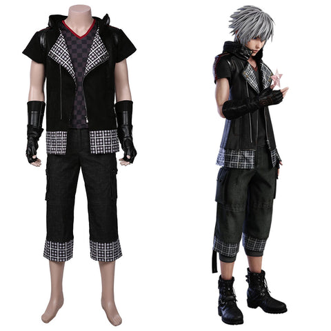 Kingdom Hearts III -yozora Halloween Carnival Suit Cosplay Costume Men Coat Outffits