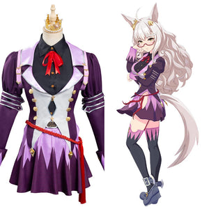 Pretty Derby Biwa Hayahide Halloween Carnival Suit Cosplay Costume Outfits