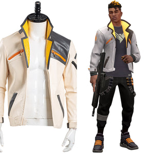 Game Valorant Phoenix Cosplay Costume Jacket Only