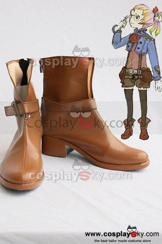 Final Fantasy Althea Cosplay Boots Shoes