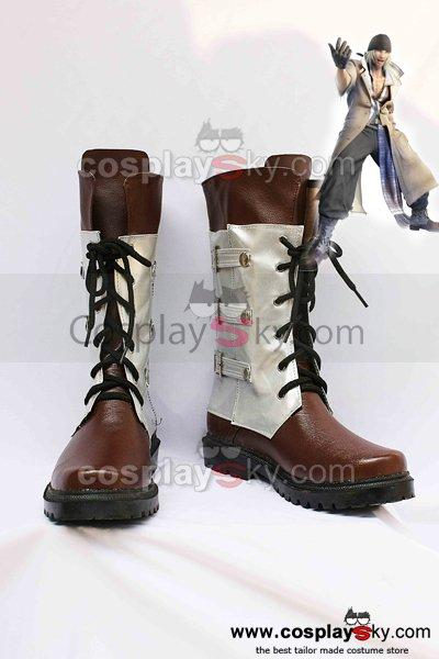 Final Fantasy XIII Snow Villiers Cosplay Boots Shoes