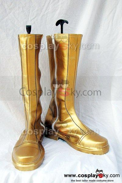 Fire Emblem Sothe Cosplay Boots Shoes Yellow