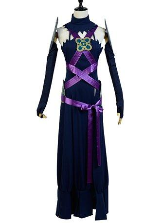 Fire Emblem IF Fates Aqua Conquest Diva Night Dress Cosplay Costume