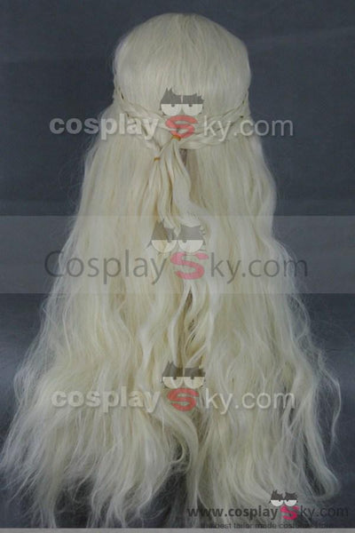 Game of Thrones Daenerys Targaryen Cosplay Wig