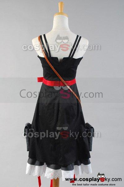 Guilty Crown EGOIST Inori Yuzuriha Dress Cosplay Costume