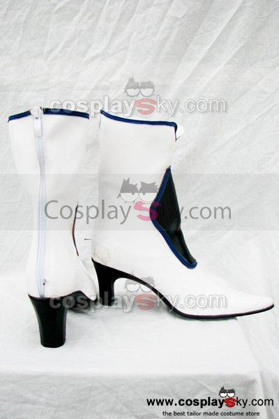 GuiltyGear Dizzy White Cosplay Boots Custom Made