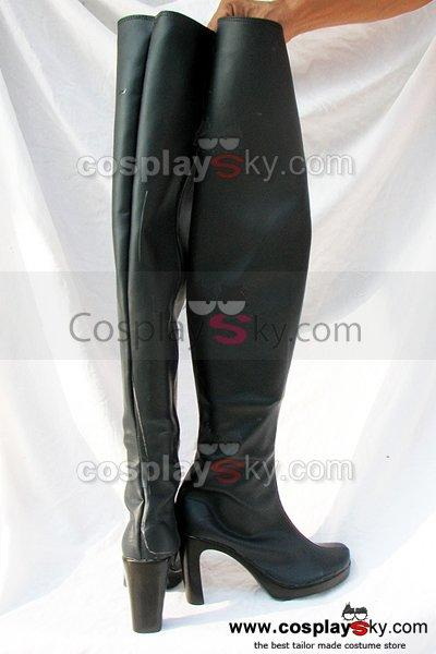 Gundam Fate Feito Cosplay Boots Shoes Black