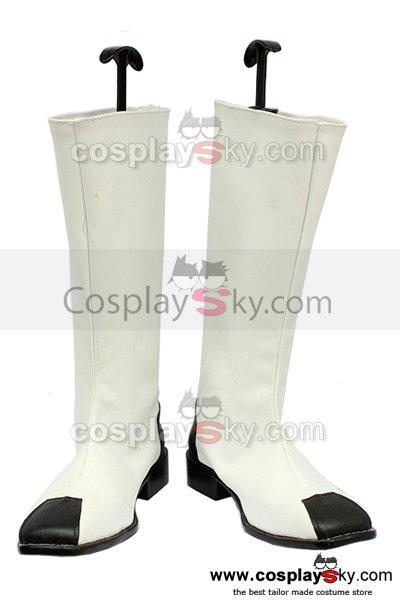 Gundam Seed Zaft White Cosplay Boots Custom Made