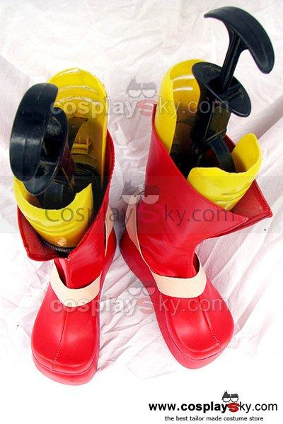 Gurren Lagann Viral Cosplay Boots Shoes Custom Made