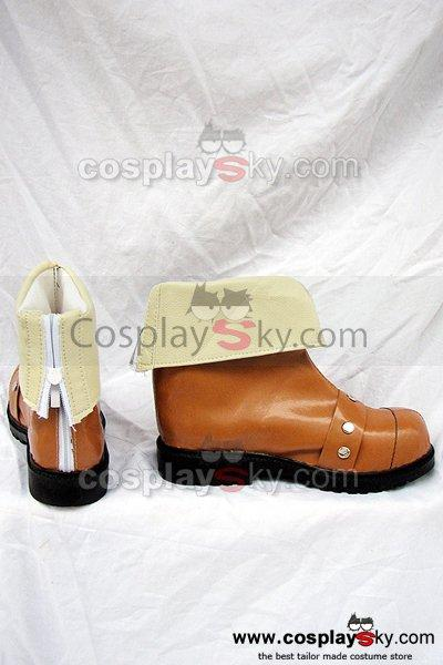 Hack Legend of the Twilight Kite Cosplay Boots Brown